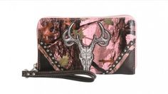 Camauflage Collection Wallet - Pink Camo