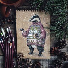 Сегодня наткнулась на иллюстрацию художницы Lia Selina. Оказывается, под этим псевдонимом скрывается молодая русская девушка Юлия Селина. Она делает игрушки, любит рисовать и фотографировать. Вот что она говорит о себе: «Мне нравятся сказки и фиолетовый цвет, ведьминские шляпы и деревья, феи и жуки, придумывать персонажей самой или изображать кем-то давно придуманных. И я не могу не рисовать.