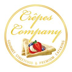 Crêpes-Company  /  Crepes-Stand.com Crepes, Catering, Ethnic Recipes, Ideas Para, Cupcakes, Signs, Logo, Gourmet, German