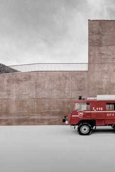 Pedevilla Architekten, Gustav Willeit · Fire Station