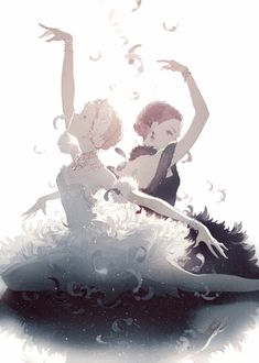 Anime / Manga Swan Lake Ballet Classical Graceful Pyotr Ilyich Tchaikovsky
