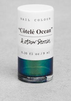 """& Other Stories   Nail Colour - """"Côtelé Ocean""""."""