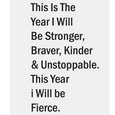 #BeStrong #BeBrave #BeKind #Unstoppable #BeFierce : @agirlhasnopresident