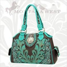 Montana West Flower Concho Handbags HCH-8136