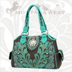 Montana West Flower Concho Handbags HCH-8136