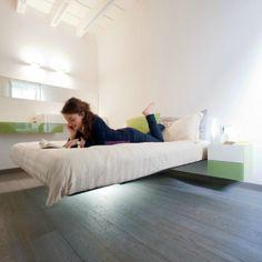 Svævende seng