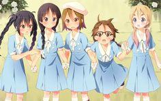 Nakano Azusa, Akiyama Mio, Tainaka Ritsu, Hirasawa Yui, Kotobuki Tsumugi