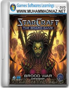 Starcraft and Brood War Game Cover