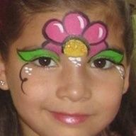 ART TO WEAR: simple face painting ideas for beginners - Face Painting Flowers, Girl Face Painting, Face Painting Designs, Paint Designs, Body Painting, Simple Face Painting, Face Paintings, Princess Face Painting, Image Painting