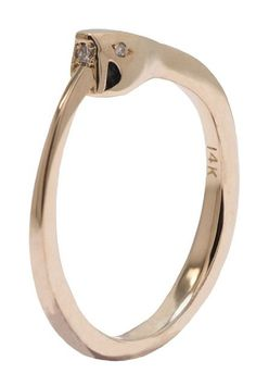 40 AWESOME Wedding Bands To Fit Your Style #refinery29  http://www.refinery29.com/cool-wedding-bands#slide-16  The Ouroboros is a mythological symbol of a snake eating its tail; it dates all the way back to ancient Egypt and Greece. The imagery has several different meanings and can represent infinity, the cyclical nature of life, and reinvention....
