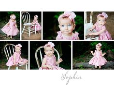 9 month pictures. Love the poses