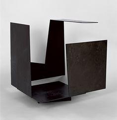 Caja vacía con gran apertura - Jorge Oteiza