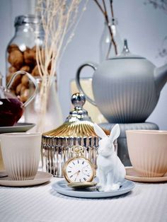 © Gregor Titze, Visual ConcepT & Stylist Sarah Riga Riga, Highlights, Jar, Concept, Tableware, Home Decor, White Rabbits, Cup And Saucer, Alice In Wonderland