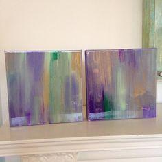 "8 x 8 ""Mardi Gras"" collection. Chandler Hines Art"