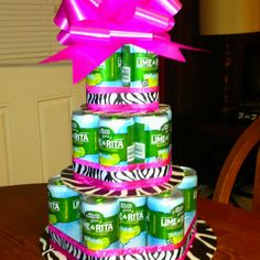The Lime A Rita cake I made for moms birthday :)