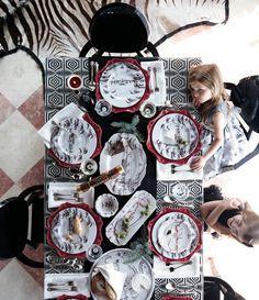 "Juliska ""Country Estate"" dinnerware."