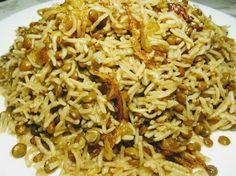 Знаменитая Маджадра! Самое вкусное сочетание риса и чечевицы