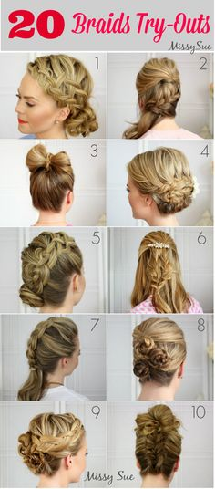 20 Braids Try-Outs