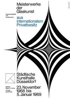 Breker (Walter, DE) 1969 Meisterwerke der Glaskunst (Städtische Kunsthalle Düsseldorf) Plakat A1 | Flickr - Photo Sharing!