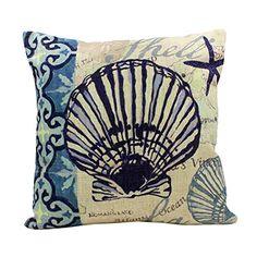 "Embrace Cotton Linen Home Decorative Graphic Vivid Ocean Water Animals Creatures Sofa Square Pillowcase Fashion Pillow Cover Case 18"" Shell Embrace http://www.amazon.com/dp/B00WWOLR0Y/ref=cm_sw_r_pi_dp_alXIwb0J3NWFR"