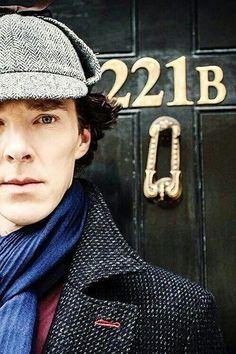 Sherlock Holmes. Benedict Cumberbatch.
