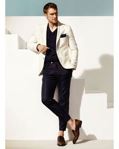 Massimo Dutti Enlists Will Chalker for May 2014 Look Book