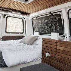 Super gaaf: een bestelbus ombouwen tot een luxe camper