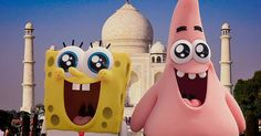 'SpongeBob Movie: Sponge Out of Water': New Trailer and Poster Hd Movies, Movies Online, Pet Snails, Animation News, Movie Co, Detroit Become Human, Animated Cartoons, New Trailers, Spongebob Squarepants
