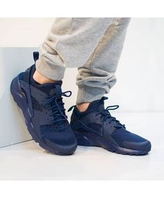 timeless design ff467 d2e07 Nike Air Huarache Ultra Breathe Mens Trainers In Blue Black Huarache, Nike  Air Huarache Ultra