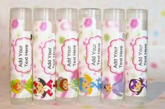 Spa Party Favors  Personalized Lip Balm Party by PartyFavorsUSA