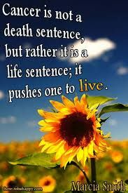 Cancer is not a death sentence!