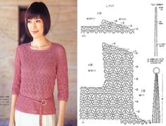 Everything to Create ... Blouses and shirts in crochet .... has graphs and many gorgeous patterns