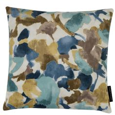 Nerina Floral Mineral Square Cushion