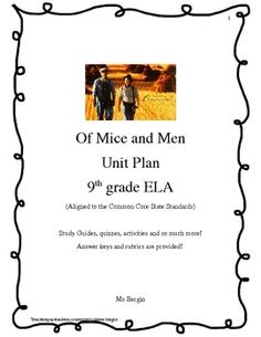 the variety of themes brought out in steinbecks novel of mice and men Two original study maps for the novel 'of mice and men' for pupils to complete as they study the chracter of curley relationships, and themes in steinbeck's novel erinsarahh 4 resources a variety of literacy tasks based on a pirate theme.