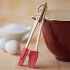 Personalized Mini Silicone Spatulas, Set of 2 #williamssonoma
