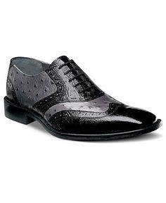 Stacy Adams Shoes, Armento Wing Tip Lace Up Shoes - Mens Shoes - Macys $55