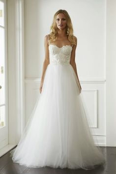 Wedding Dresses: Lisa Gowing Golden Age Demi Couture Collection - Aisle Perfect - love the bodice