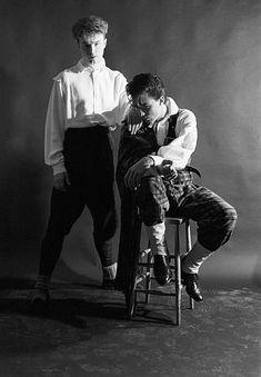 Spandau Ballet Gary and Martin Kemp 1980