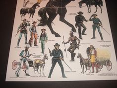 1975 Louis Marx Johnny West Adventure Series 11 x 17 Reproduction Poster in Toys & Hobbies, Vintage & Antique Toys, Cowboy, Western | eBay