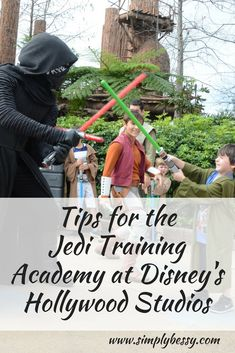 The Jedi Training Academy Disney World