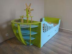 """Купить Кровать детская """"Кораблик"""" - кровать, кровать детская, кровать на заказ…"""