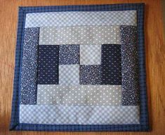 Idea for quilted potholders using a towel for batting and a foldover backing Potholder Patterns, Mug Rug Patterns, Quilt Patterns, Apron Patterns, Dress Patterns, Patchwork Cards, Patchwork Quilt, Small Quilts, Mini Quilts