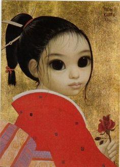 """""""Soonie's Rose"""" by Margaret Keane"""