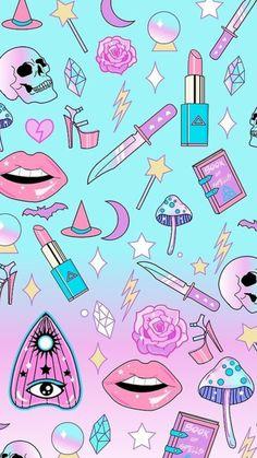 iPhone X Wallpaper Unicornios Wallpaper, Kawaii Wallpaper, Tumblr Wallpaper, Cellphone Wallpaper, Wallpaper Backgrounds, Teenager Wallpaper, Aesthetic Stickers, Halloween Wallpaper, Cute Stickers