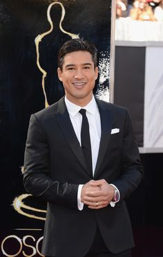 Mario Lopez  Fashion On The 2013 Academy Awards Red Carpet