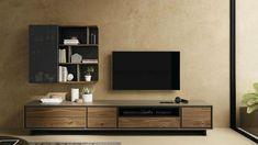 Living Room Partition Design, Living Room Tv Unit Designs, Room Partition Designs, Tv Wall Unit Designs, Modern Tv Room, Modern Bedrooms, Sofa Design, Furniture Design, Tv Cabinet Design