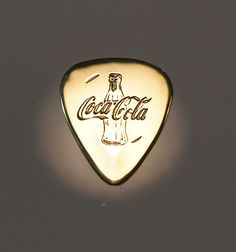 Coca Cola - Brass Guitar Pick