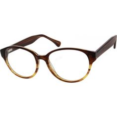 07cb381b2c An acetate full-Rim Frame with metal bottom and acetate top part ...