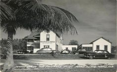 """Marco Lodge """"The Friendly Hotel"""" Marco Island early 50's.  Look at it now!!"""