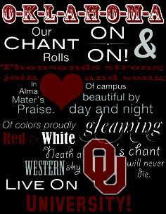 Cant wait to be there and call ou home!!!!! Boomer Sooner! <3